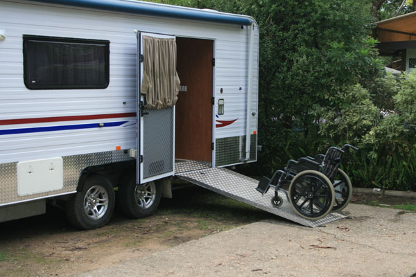 Week 246 8 Accessavan Wheel Chair Accessible Caravan Adw