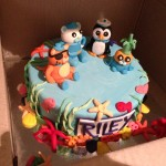 Riley's Octonaut Cake - 3rd birthday