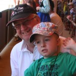 Riley & Grandpa at Zoo