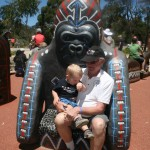 Riley & Lucas at Werribee Zoo