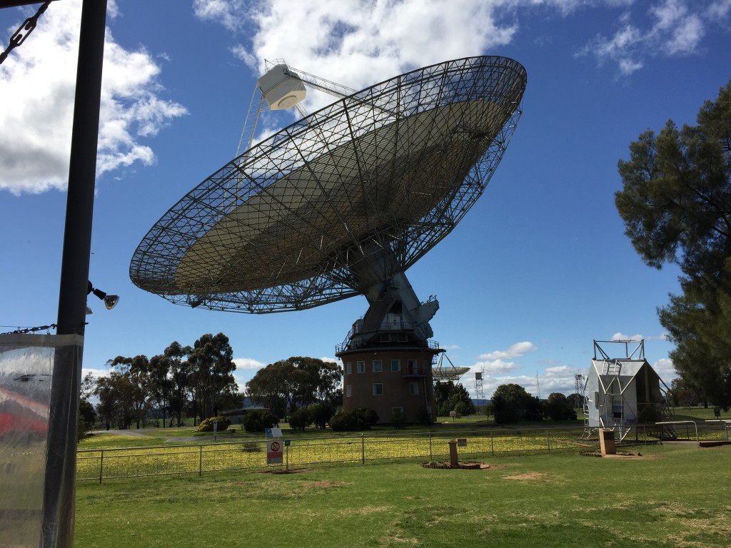 The Dish at Parkes NSW